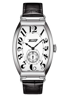 Tissot Heritage Porto Leather Strap Watch, 42.5mm x 31mm
