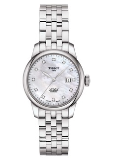 Tissot Le Locle Diamond Bracelet Watch, 29mm