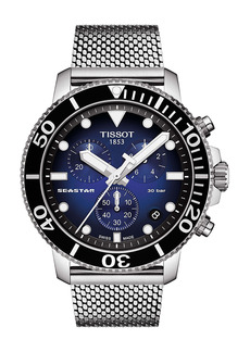Tissot Seastar 1000 Chronograph Mesh Bracelet Watch, 45.5mm