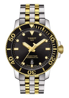 Tissot Seastar 1000 Powermatic 80 Bracelet Watch, 43mm