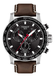 Tissot Supersport GTS Leather Strap Watch, 45.5mm