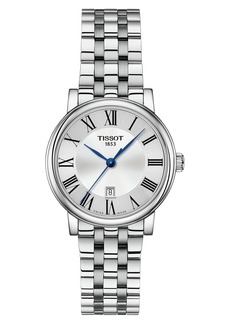 Tissot T-Classic Carson Bracelet Watch, 30mm