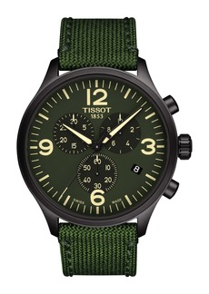 Tissot T-Sport XL Chonograph Nylon Strap Watch, 45mm