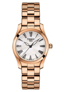 Tissot T-Wave Bracelet Watch, 30mm
