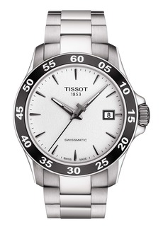 Tissot V8 Swissmatic Bracelet Watch, 42mm