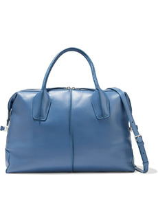 Tod's Woman D-styling Medium Leather Tote Azure