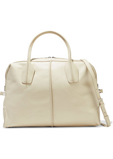 Tod's Woman D-styling Medium Leather Tote Cream