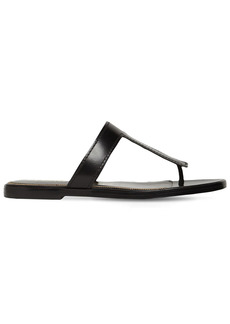 Tom Ford 10mm Tf Leather Thong Sandals