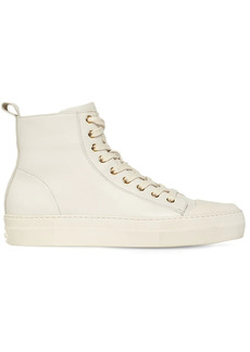 Tom Ford 30mm City High-top Leather Sneakers