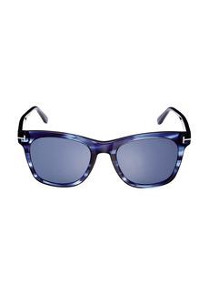 Tom Ford 54MM Plastic Square Sunglasses