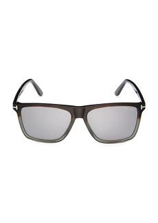 Tom Ford 57MM Square Sunglasses