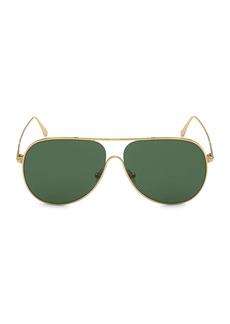 Tom Ford Alec 62MM Pilot Sunglasses