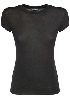 Tom Ford Cashmere & Silk Knit T-shirt