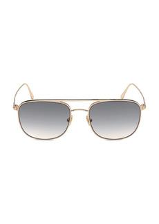 Tom Ford Jake 56MM Navigator Sunglasses