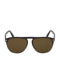 Tom Ford Jasper 58MM Round Sunglasses