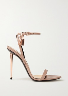 Tom Ford Padlock Leather Sandals
