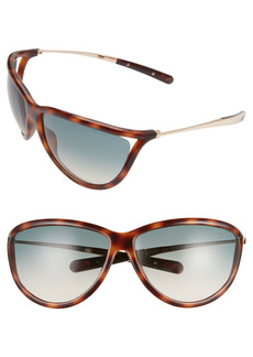 Tom Ford Tammy 70mm Wrap Sunglasses