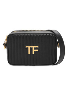 Tom Ford Tf Quilted Leather Camera Bag