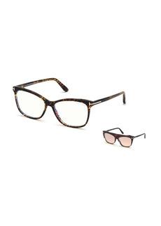 TOM FORD FT5690-BW550 Blue Light Blocking Square Optical Glasses