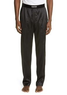 Tom Ford Stretch Silk Pajama Pants