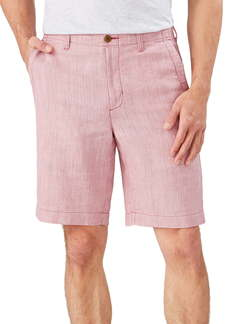 Tommy Bahama Harbor Herringbone Linen Blend Shorts