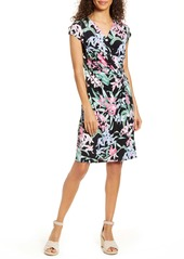 Tommy Bahama Orchid Isle Faux Wrap Dress