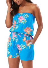 Tommy Bahama Sun Lilies Strapless Cover-Up Romper