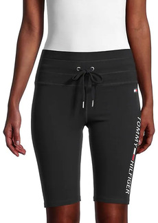 Tommy Hilfiger High-Rise Logo Shorts