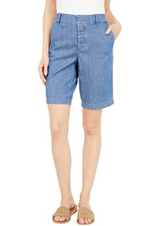 """Tommy Hilfiger Hollywood 10"""" Stretch Shorts with Velcro Brand Closure and Magnetic Fly"""