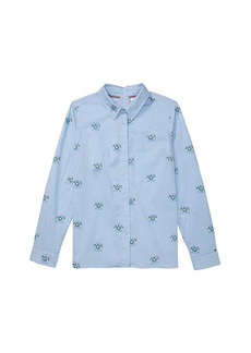 Tommy Hilfiger Seated Button-Down Shirt with Velcro Closure