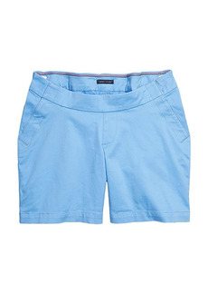 """Tommy Hilfiger Seated Fit Hollywood Stretch 5"""" Shorts with Velcro Brand Closure and Magnetic Fly"""
