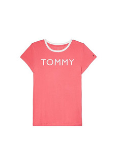 Tommy Hilfiger T-Shirt with Wide Neck Opening