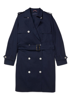 Tommy Hilfiger Adaptive Women's Trench Coat with Magnetic Buttons