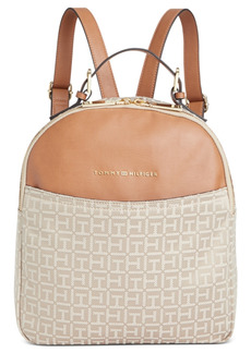 Tommy Hilfiger Hazel Jacquard Dome Backpack, Created for Macy's