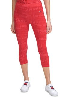 Tommy Hilfiger Sport Printed Athletic Capris