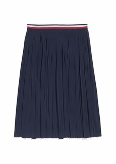 Tommy Hilfiger Women's Adaptive Pleated Skirt with Adjustable Waist  XL