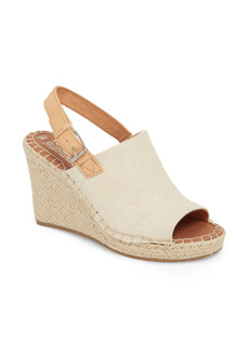 TOMS Shoes Women's Toms Monica Slingback Wedge