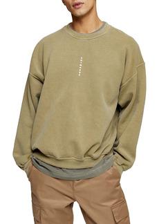 Topman Anywhere Graphic Sweatshirt