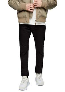 Topman Carpenter Slim Straight Leg Jeans