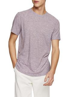 Topman Classic Fit Rib Crewneck T-Shirt