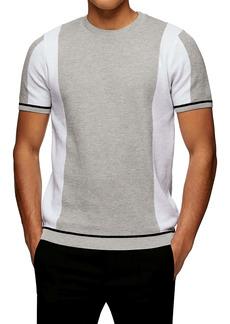 Topman Crewneck Short Sleeve Sweater