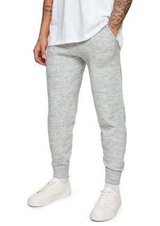 Topman Fluffy Knit Classic Fit Joggers