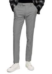 Topman Houndstooth Skinny Trouser