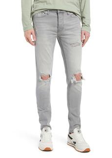 Topman Men's Blowout Skinny Fit Jeans