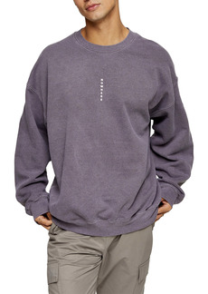 Topman Nowhere Print Sweatshirt