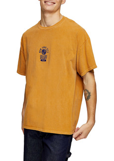 Topman NYC Oversize Embroidered T-Shirt