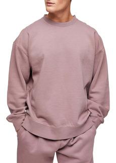 Topman Oversize Crewneck Sweatshirt