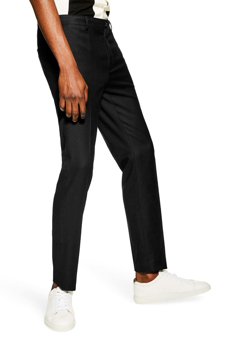 Topman Skinny Fit Textured Pants