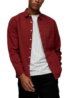 Topman Slim Fit Button-Up Shirt