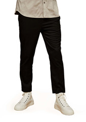 Topman Slim Fit Crop Drawstring Pants